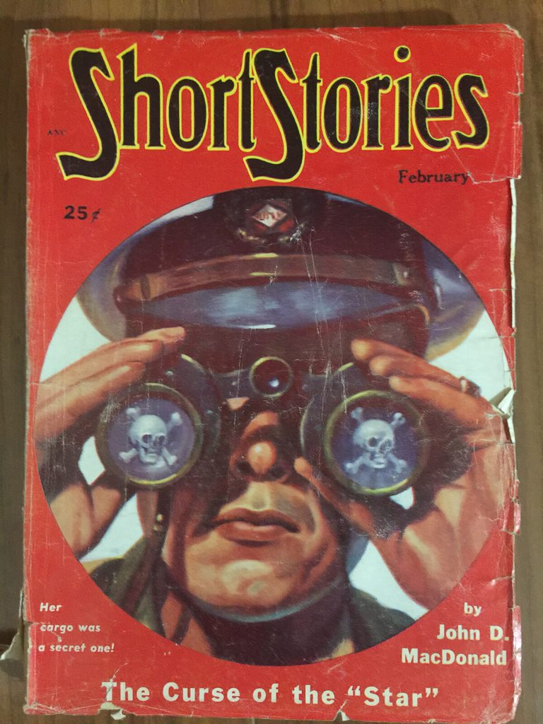 1951 Feb issue of Short Stories, last pulp issue with original fiction